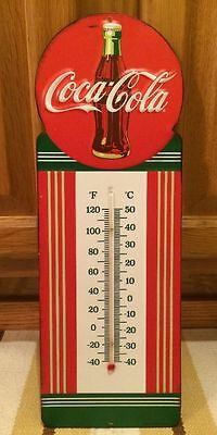 COCA COLA Metal THERMOMETER Advertising Home Decor COKE