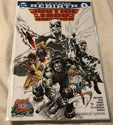 justice league of america rebirth 1 variant Plus Issues 1,2,3,4,5. All NM BATMAN