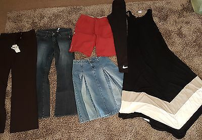 Bulk lot mixed ladies/womens clothing size 8   NEW & PRELOVED dress pants jeans