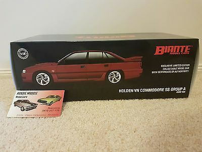 1:18 Biante HSV VN SS Group A Commodore in Durif Red. Only 2850 made.
