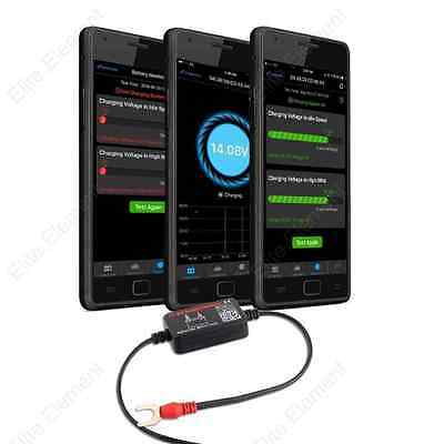 Bluetooth Battery Monitor Tester Car 12V 4.0 Wireless Free Mobile APP Real Time