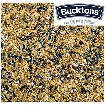Bucktons Small Parakeet Seed / Food 500g, 1kg, 2kg & 5kg - Individual Clear Bags