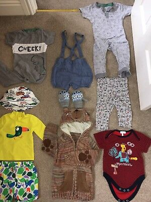 Bundle Of Baby Boy Clothes, 3-6 And 6-12 Months, 1 Year, NEXT, M & S, Swim