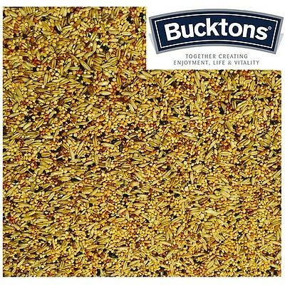 Bucktons Budgie Tonic Seed / Food 500g, 1kg, 2kg & 5kg - Individual Clear Bags
