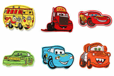 New 6Pcs Classic Cars® Iron Sew On Patch Crafts Party Favours 6-9cm
