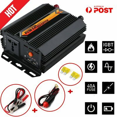 Pure Sine Wave Power Inverter 2200W/4400W 12V-240V With Solar Charging Manager