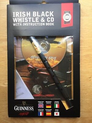 Guinness Irish Black Whistle & CD with Instruction Book