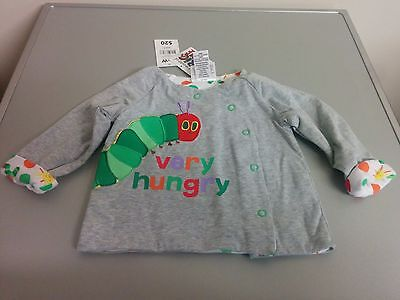 RRP$20 New Eric Carle Caterpillar Baby Jacket Jumper Size 0