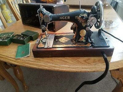 1925 antique singer sewing machine model 128 working
