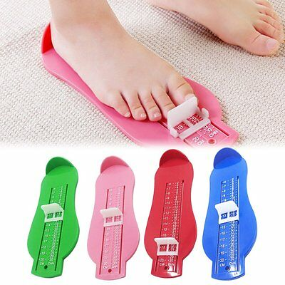 Baby Foot Measure Tool Shoes Helper Baby Foot Measuring Ruler Gauge Device SX