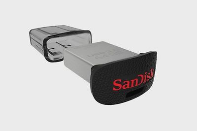 Pendrive Sandisk 16GB 32GB USB 3.0 130 MB/s Ultra Fit Memoria Pen Micro Mini