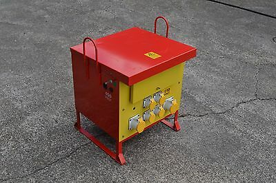 Dyna Power10 KVA 3 phase 110 volt 16/32 Amp Electric Transformer cabin from £250