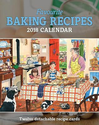 2018 Calendar Favourite Baking Recipes Small