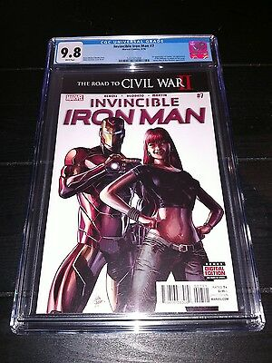 Invincible Iron Man CGC 9.8 First RiRi Williams! Ironheart - Marvel Comics 2016