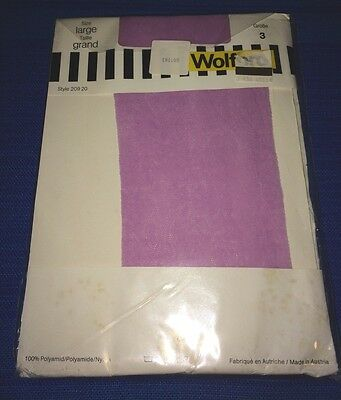 Super Rare Vnt Wolford Stockings. Bouquet De Fleurs. Large Crocus (pink)Last One
