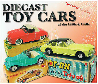 """DIECAST TOY CARS OF THE 50s + 60s"" +++  NEU/NEW/NEUF, NOCH IN FOLIE !!"
