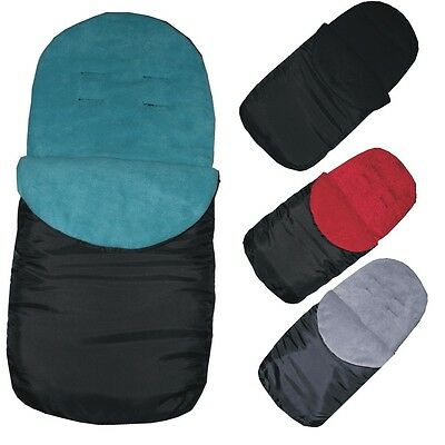 Warm Fleece Lined Showerproof Footmuff Cosy Toes - For Buggy / Pushchair / Pram