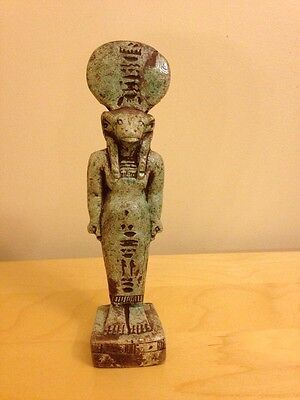 Egyptian Striding Hamr Stone Khnum Water God 23x5.4 Cm Potter God Of Creation