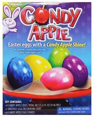 EASTER EGG COLORING Kit Candy Apple, Fast Free Ship