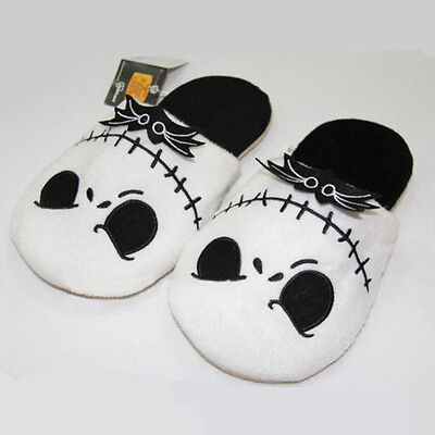 The Nightmare Before Christmas Jack Soft Plush Stuffed Slippers Cotton Shoes Hot
