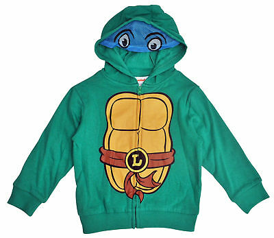 TMNT Leonardo Toddler Boys Costume Hoodie Jacket with Mask