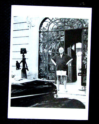 Scarce Modern Postcard Pablo Picasso Cannes 1956 Photo Kurt Blum