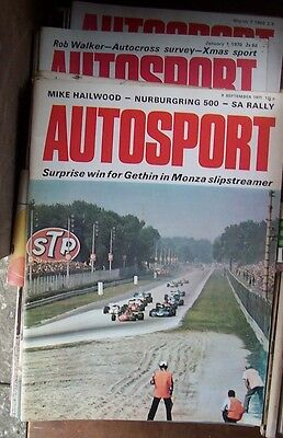 Job Lot Collection of Autosport Magazines