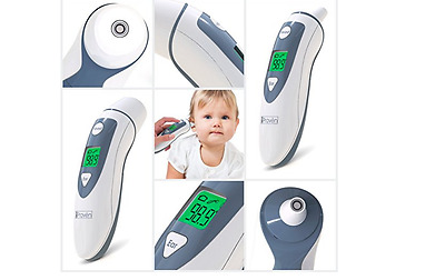 Temporal Thermometer IProven Best Digital Medical Ear Head Adult Child Infant