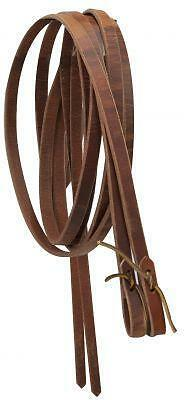 """Showman USA MADE 8' x 1/2"""" Western Leather Split Reins! NEW HORSE TACK!"""