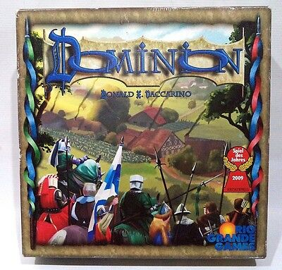 Dominion by Rio Grande Games Card Based Game Complete USED Donald & Vaccarino