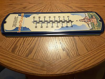Vintage Land O' Lakes Sweet Cream Butter Thermometer 27""