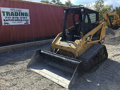 2012 Caterpillar 247B3 Tracked Skid Steer Loader. NEW TRACKS!!