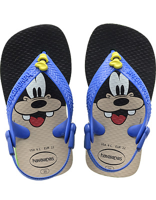 order online super cheap good texture HAVAIANAS BABY CLASSIC Goofy Sandals Toddler Infant Flip ...