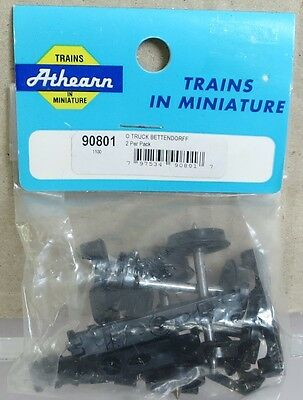 Athearn 90801 O-Scale Bettendorff Truck 2-Pack NOS