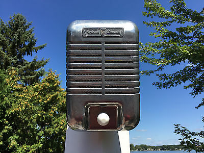 New Single 1960s Detroit Diecast Mark II Drive-In Movie Speaker