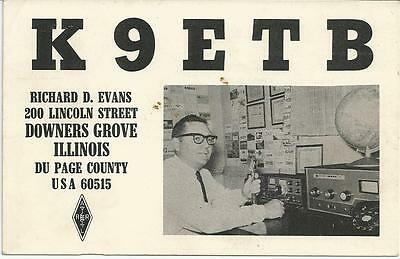 QSL Card / Amateur Radio Collecting Card - 1967