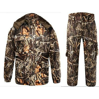 Outdoor Sports Max4 Camo Suits Hunting Suit Clothing Fishing Jacket Trousers