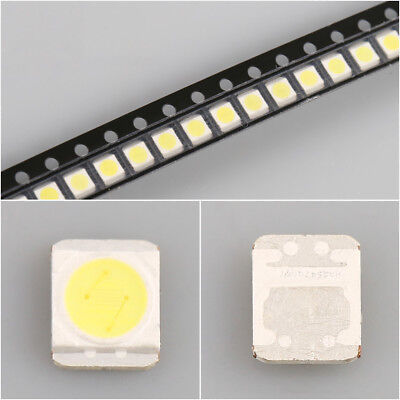50 Pieces/lot for LEDs for LG 3528 2835 3V 280MA 1W cold white light,repair TV