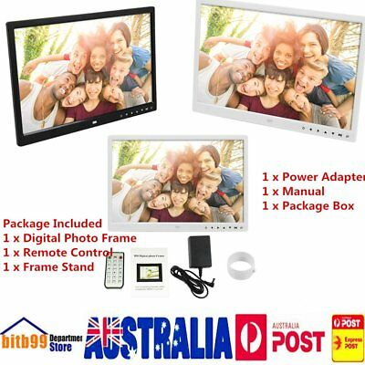 Digital Photo Frame 15 Inches Front Touch Buttons Multi-language LED Screen AU