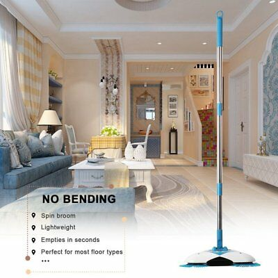 Non electric Spin Broom home sweeper Cleaning floor hand-propelled Hurricane