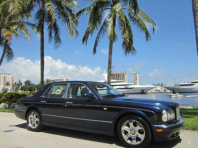 2002 Bentley Arnage Red Label Florida Gorgeous 2002 Bentley Arnage Red Label Turbo Low Miles Great Color Combo