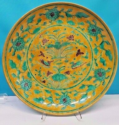 Antique Chinese Porcelain Charger