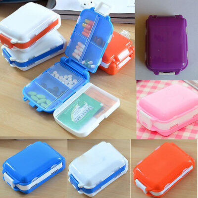 Weekly Sort torage Case Container New Folding Vitamin Medicine Drug Pill Box S