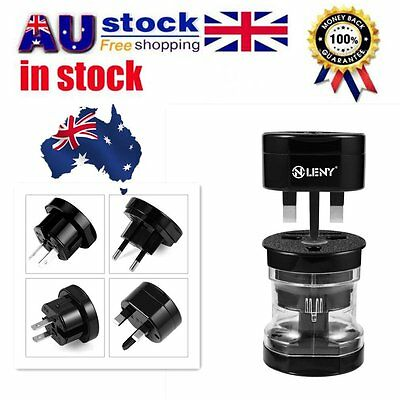 Universal International World Travel Adapter Converter Plug Power US/UK/AU/EU U1