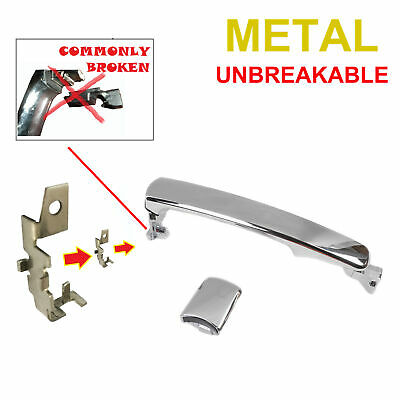 Exterior Outside Door Handle For 03 Nissan Infiniti Chrome DN3952C2 Front Right