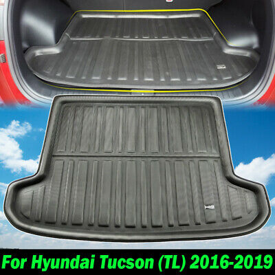 Boot Cargo Floor Mat Liner Rear Trunk Tray For 2016 2017 2018 Hyundai Tucson