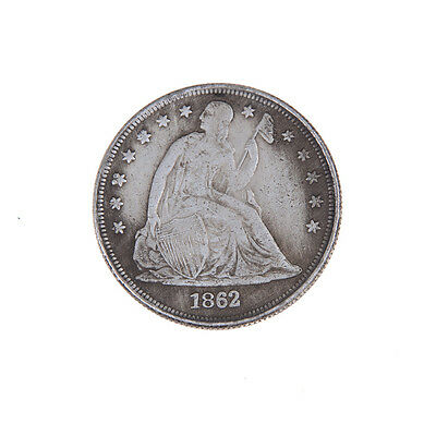 1862 US The Statue of Liberty Commemorative Coins Old Mexican Old Coin LE