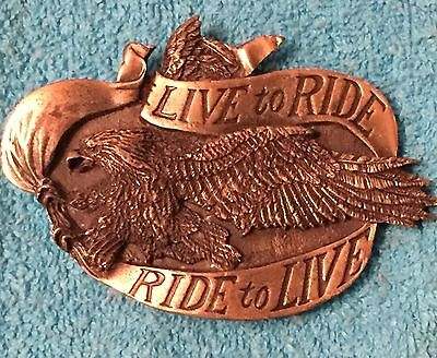 Live To Ride, Ride To Live Belt Buckle