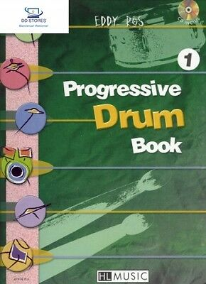 Progressive Drum Book 1 Partition – janvier 2001