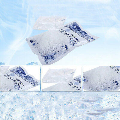 New INSTANT COLD Pack Disposable Ice Packs Sports Injuries Pain Relief First Aid